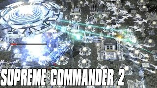 Supreme Commander 2 - Air Elimination! 4vs4 Multiplayer Gameplay