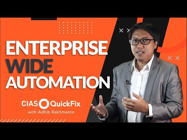 3 Komponen Keberhasilan Otomasi di Perusahaan (Entreprise Wide Automation)