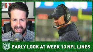 NFL Week 13/Thanksgiving Picks, Early Look at Lines, Betting Advice I Pick Six Podcast