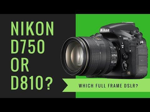 Nikon D750 or Nikon D810 - Which FULL FRAME Camera Should I Buy?
