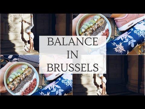 FINDING BALANCE IN BRUSSELS | Cat Meffan | Ad