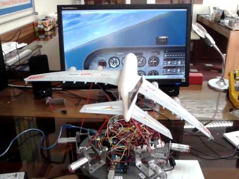 FSX test with mini 6DOF motion platform