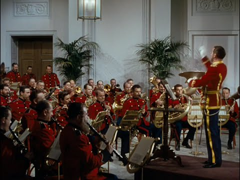 "Sousa at the White House in the movie ""Stars And Stripes Forever"""