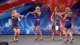 Scala - Live Electric Violins - Britians Got Talent