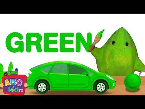 Color Song - Green | CoCoMelon Nursery Rhymes & Kids Songs