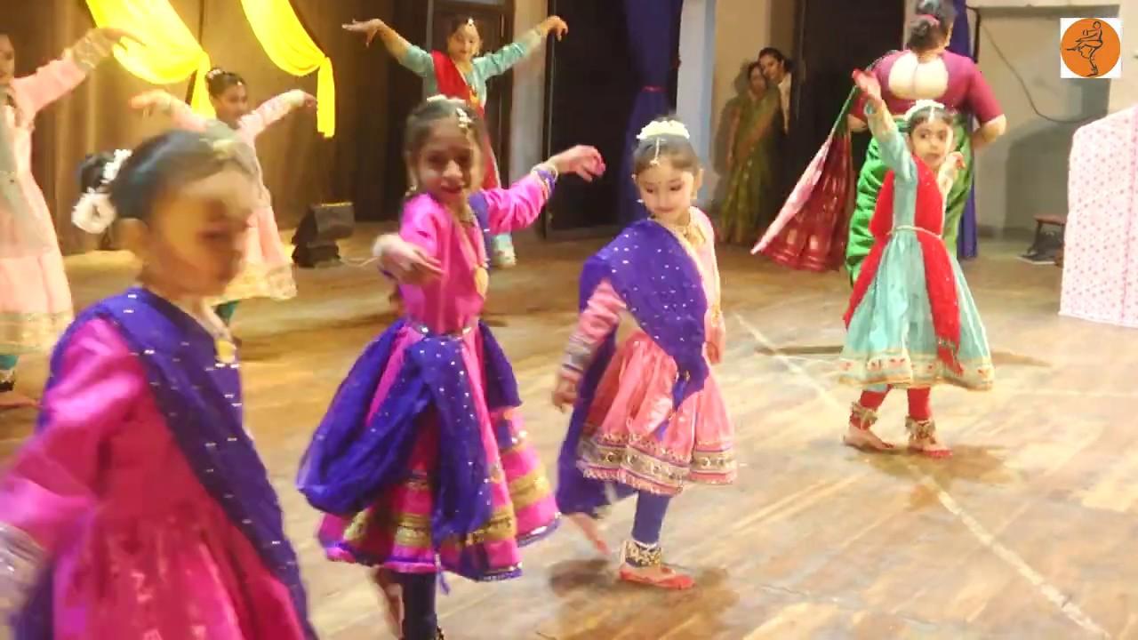 Kathak for Kids | Aayi Barkha Ki Rutu Aayi | ABHIVYAKTI 2019 | KRUPAL SOMPURA