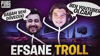 MEZARCI İLE RASTGELE TAKIMA GİRİP TROLLEDİK!! | PUBG Mobile Komik Anlar