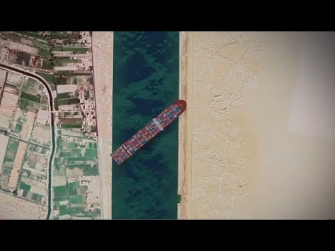 Egyptian authorities demand $1b in compensation for Suez Canal block