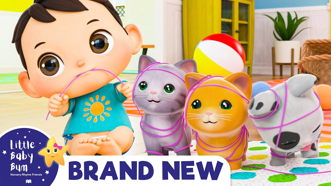 Three Little Kittens Song   Nursery Rhymes & Kids Songs!   Baby Songs   Little Baby Bum