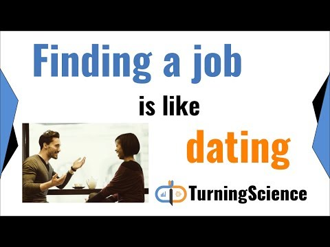job search like dating