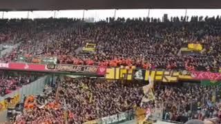 "Dynamo Dresden Fans ""Ost-Deutschland"" in Köln"