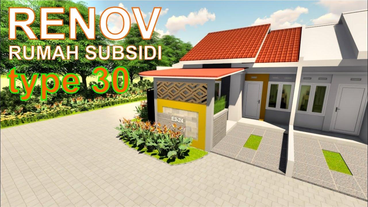 Renovasi rumah subsidi type 30 dilahan hook (PROJECT 61 ...