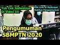 Cara Melihat Pengumuman SBMPTN 2020