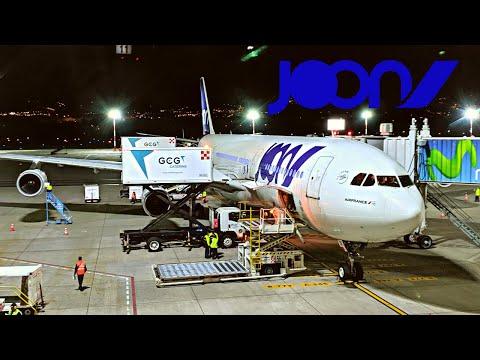 JOON AIRBUS A340-300 (Business) | QUITO - PARIS