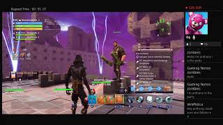 Fortnite battle royale live - giveaway first 100 people hurry !