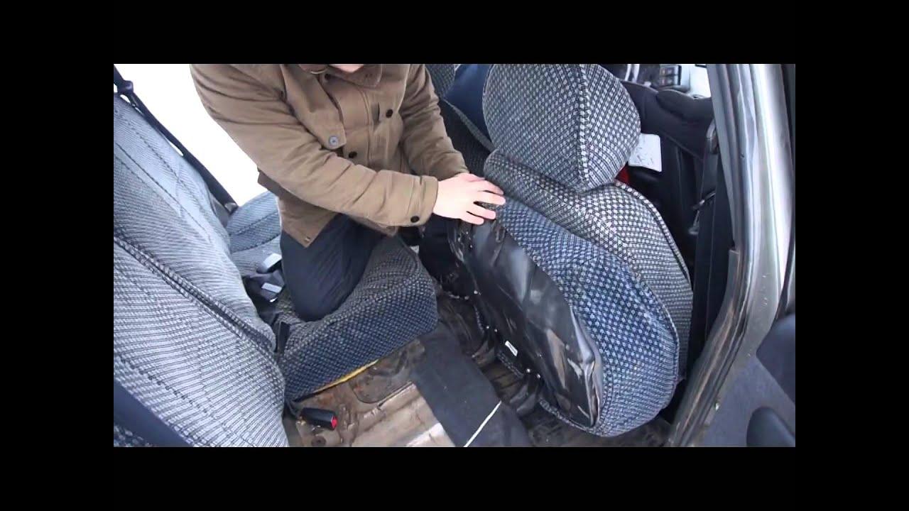 ВАЗ 2111: как раскладываются сиденья на Ласточке
