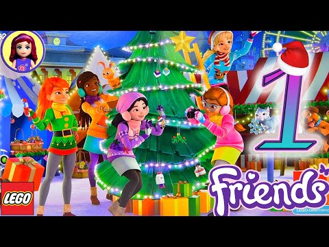 Day 1 Yay! Lego Friends Advent Calendar Opening Christmas 2019