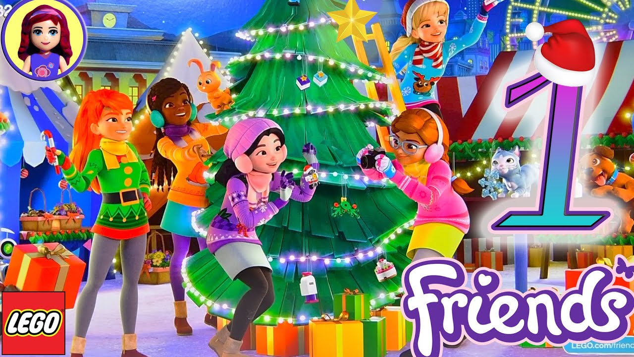 day 1 yay lego friends advent calendar opening christmas. Black Bedroom Furniture Sets. Home Design Ideas