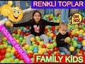YASİN EFE & FULYA | RENKLİ TOP HAVUZUNDA | Eğlenceli Çocuk Videoları
