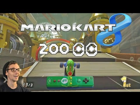 Super Fast 200cc with a Wii Remote?! | Mario Kart 8