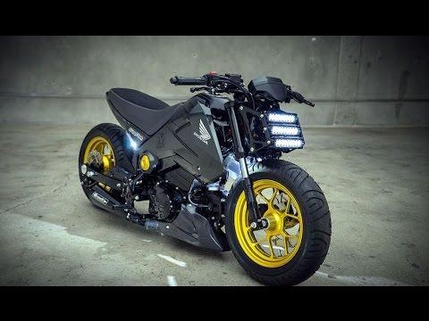 Kawasaki Z125 Pro 2017 Vs Honda Grom 2014 125cc