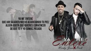 Video Ya me entere Urban versión. Reik ft Nicky jam Official vídeo download MP3, 3GP, MP4, WEBM, AVI, FLV November 2017