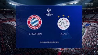 FIFA 19 | Bayern Munich vs Ajax - UEFA Champions League (Full Gameplay Xbox One X)