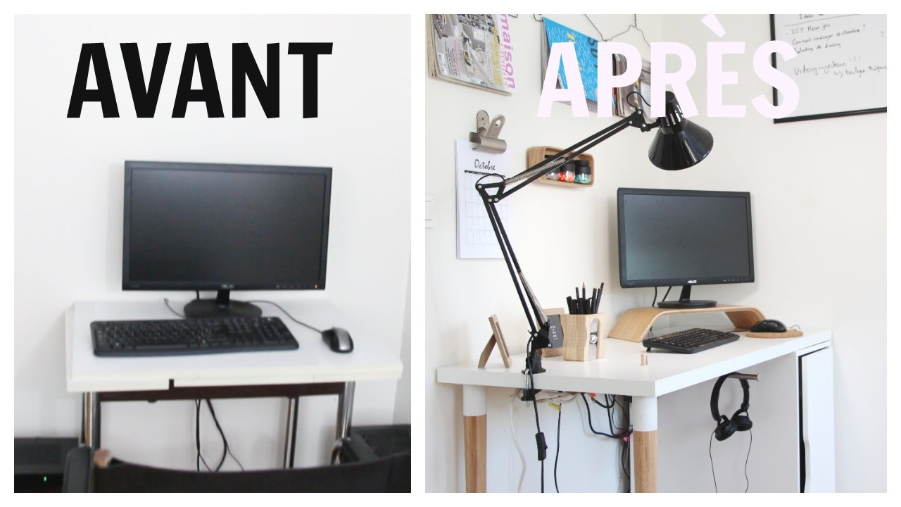 Relooking d co comment am nager un coin bureau youtube for Amenager un bureau dans une chambre
