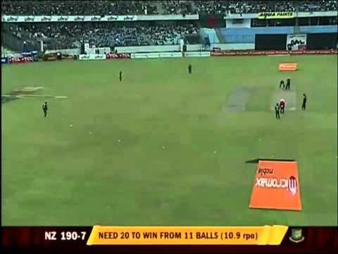 Cricket: Bangladesh vs new zealand ODI 1, Oct 5, 2010