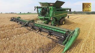 Video Mähdrescher John Deere S685i TT Raupe, 12,34 m , barley Getreideernte 2017 biggest combine harvester download MP3, 3GP, MP4, WEBM, AVI, FLV Desember 2017