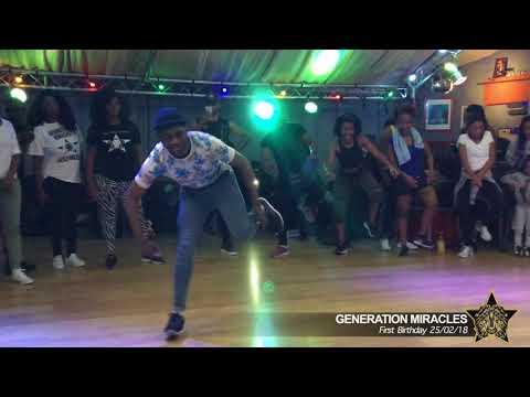 Génération Miracles : stage ndombolo live -Le BIRTHDAY - Solo de Blanchi