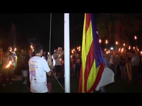 Marxa de torxes per la independència , Sant Quirze del Vallès