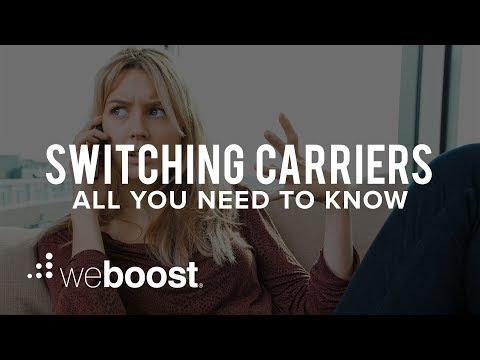 Switching Carriers - All You Need To Know   WeBoost
