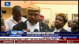 Osun Gov'ship Election Court Rules Against Plaintiffs', Says Application Lacks Merit