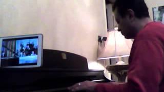 لست قلبى .. عبد الحليم حافظ .. موسيقى على بيانو طارق بغدادى