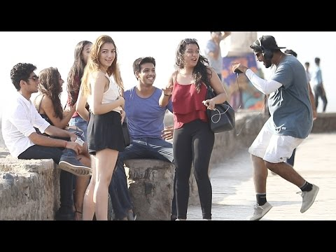 Singing Justin Bieber's Songs BADLY In Public Prank in India | Baap Of Bakchod - Raj