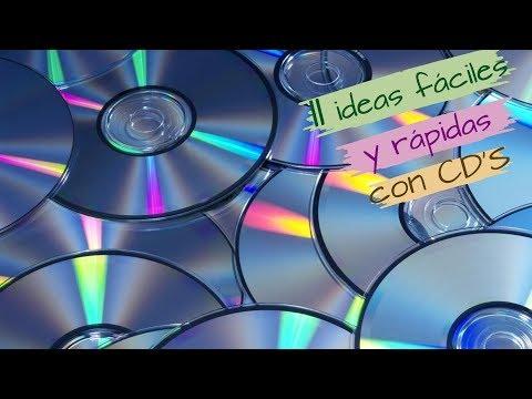 11 IDEAS FÁCILES Y RÁPIDAS CON CDS