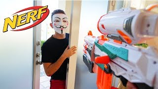 NERF WAR: GAME MASTER BATTLE! (PROJECT ZORGO)