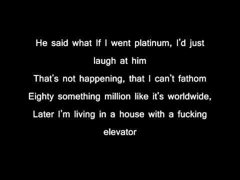 Eminem elevator with lyrics in reverse