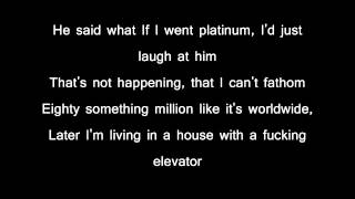 Eminem elevator with lyrics in reverse