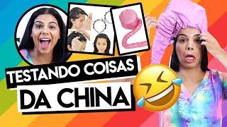 TESTANDO COISAS DA CHINA