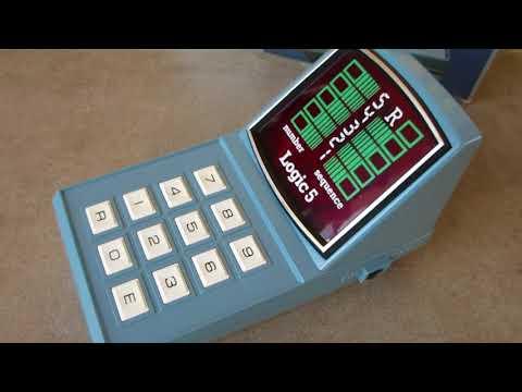MB Computer LOGIC 5 : Vintage Milton Bradley Game
