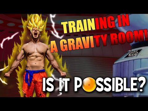 DragonBall Z Gravity Training! Can your body handle it? (DBZ Workout)