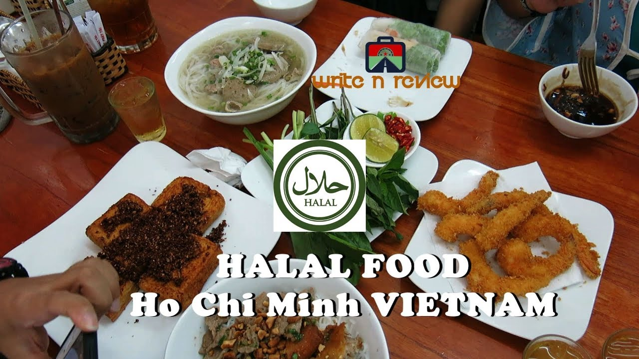 Halal Food In Ho Chi Minh Vietnam Youtube