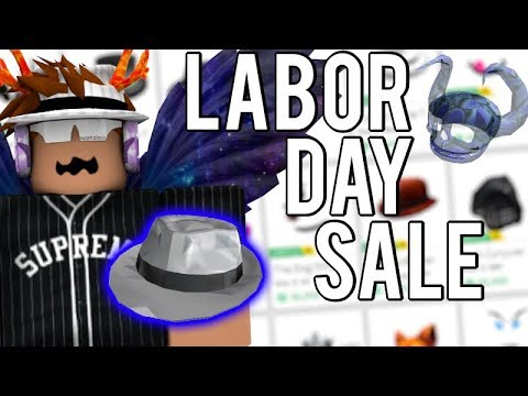 5932dc82085 [ROBLOX LABOR DAY SALE] HOW TO PROFIT! WHITE SPARKLE TIME FEDORA?