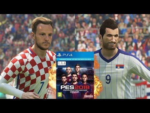 CROATIA AND SERBIA TAKE OVER PES 2018