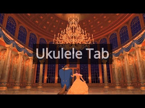 Beauty And The Beast Ukulele Fingerstyle Tab Ukulele
