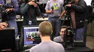 بالفيديو.. روبوت يدخل 'جينيس' بعد حل لغز مكعب روبيك في أقل من ثانية