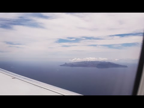 Flying to St Helena Island