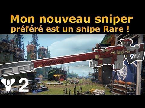 Destiny 2 : Test PVP de Mon Nouveau Sniper Préféré le AIX-LR2 !